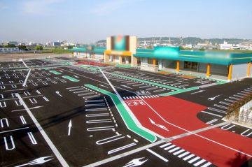 大分市内大型店舗駐車場(大分市)