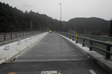 境橋床版改修工事(日田市天瀬町)