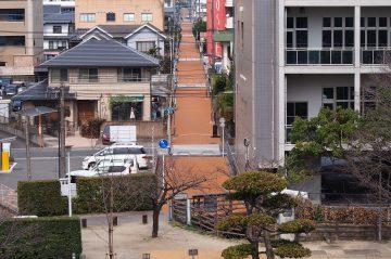 県庁前碩田線舗装修繕工事(大分市城崎町)