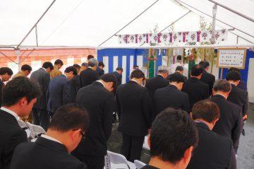 安全祈願祭を行いました。(玖珠工業団地)
