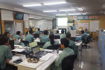 9月の安全会議