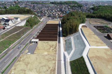 横尾区画 区画C-15号線街路築造外5件工事(大分市横尾)