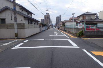 市道中島東西6号線舗装修繕工事(大分市中島東)