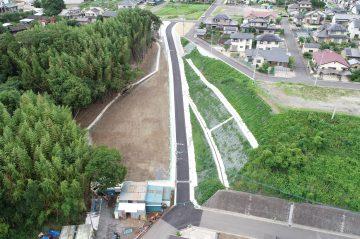 横尾区画 区画B-8号線街路築造外5件工事(大分市横尾)