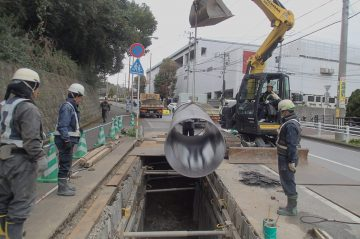 公共下水道東部処理区 明野南6066号線雨水施設工事(大分市明野南)